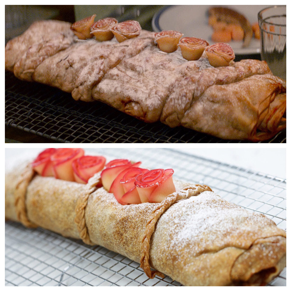 Fantastic Beasts Queenie's Apple Strudel on Nerdy Nummies