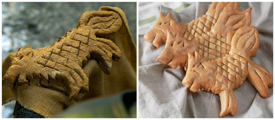 Game of Thrones Direwolf Bread from Nerdy Nummies