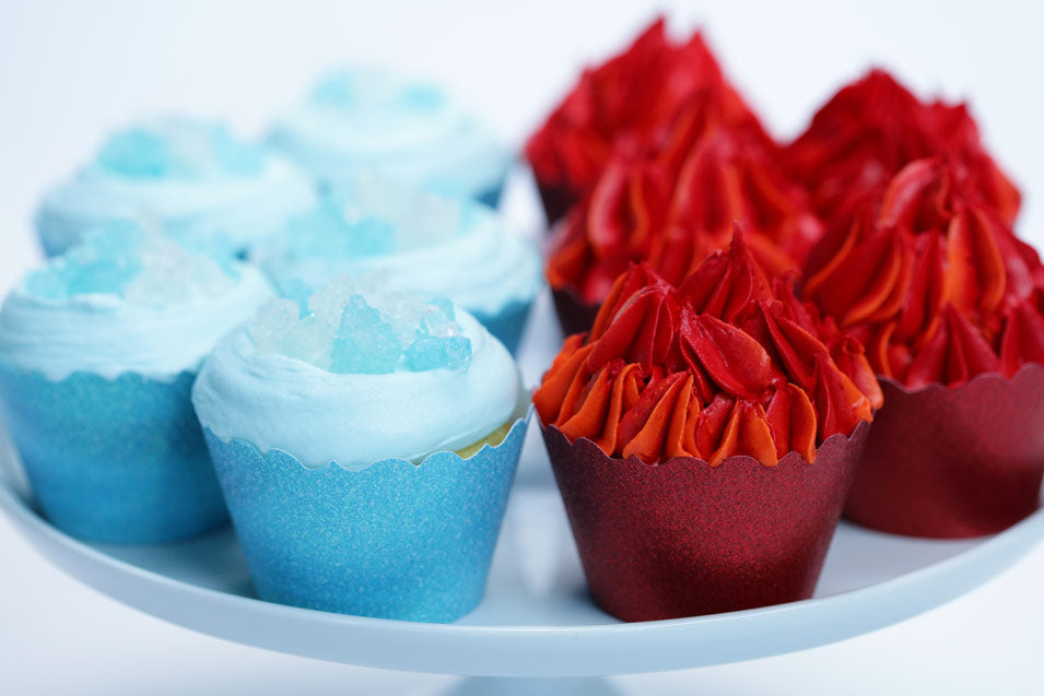 Game of Thrones Ice and Fire Cupcakes