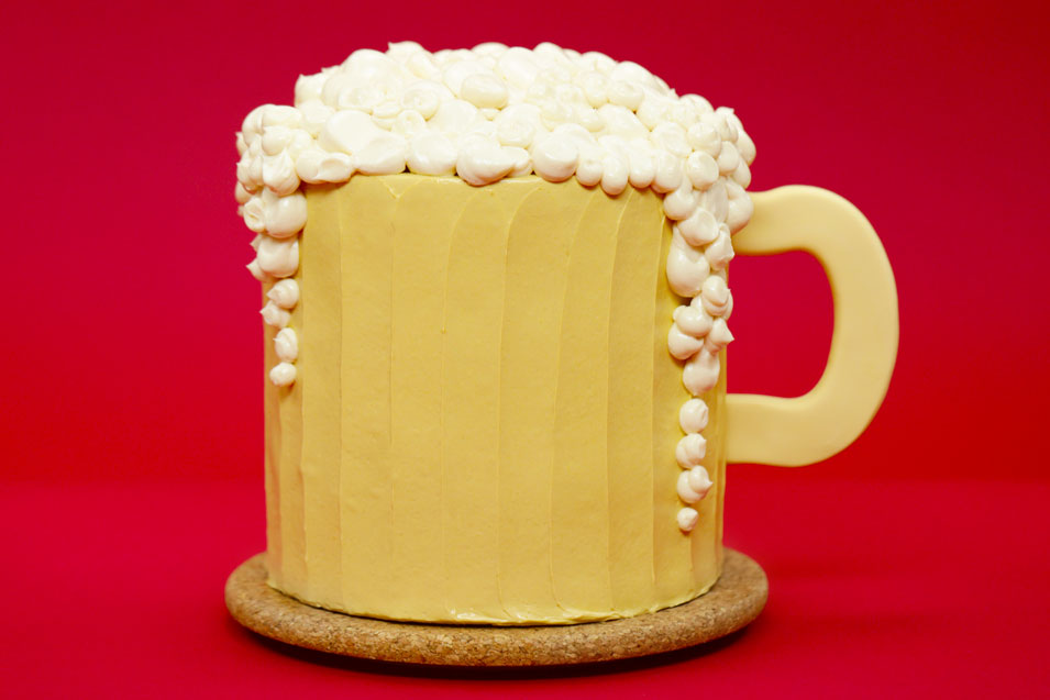 Harry Potter Butterbeer Cake