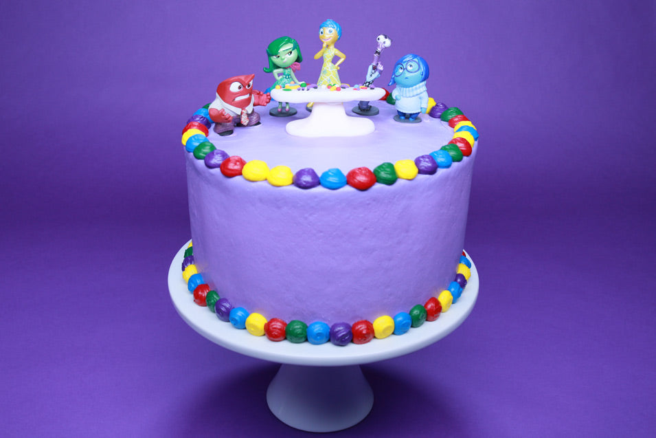 Inside Out Surprise Cake
