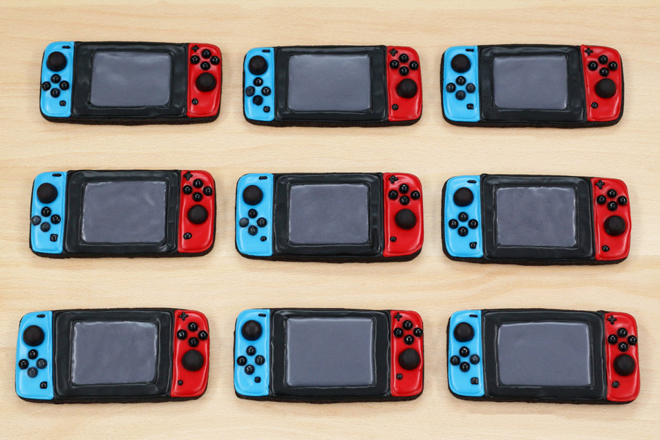 Nintendo Switch Cookies