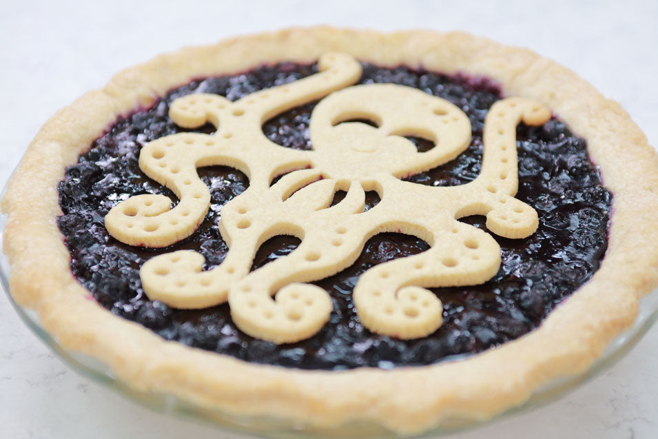 Dairy Free Blueberry Octo-Pie