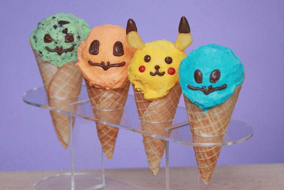 Pokemon Ice Cream Cones