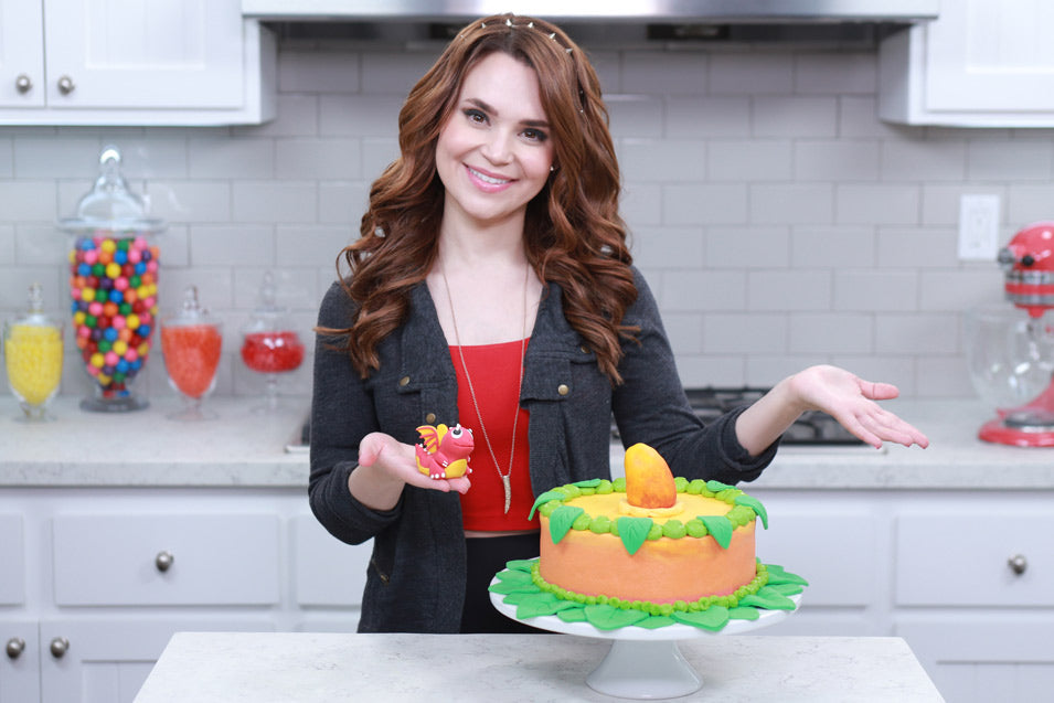 Rosanna Pansino makes a DragonVale Cake