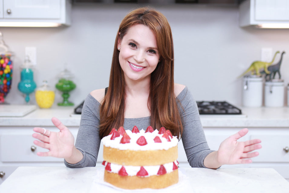 Rosanna Pansino makes a Fairy Tale Fantasia Cake