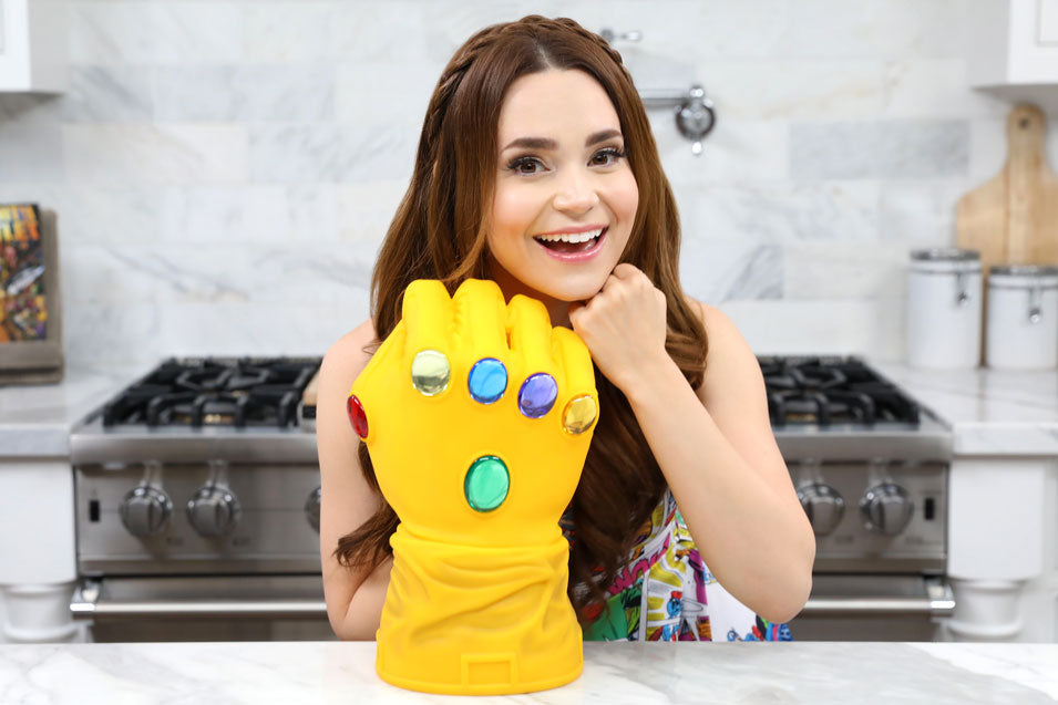 Rosanna Pansino makes Infinity Stone Cupcakes on Nerdy Nummies