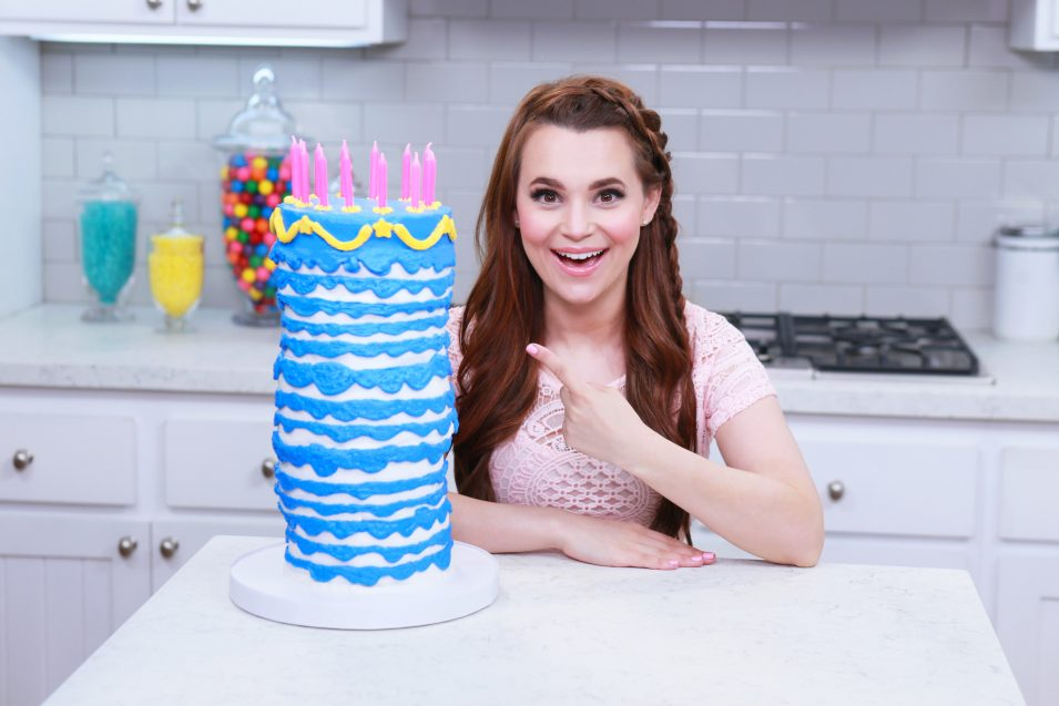 Rosanna Pansino makes a Sleeping Beauty Cake