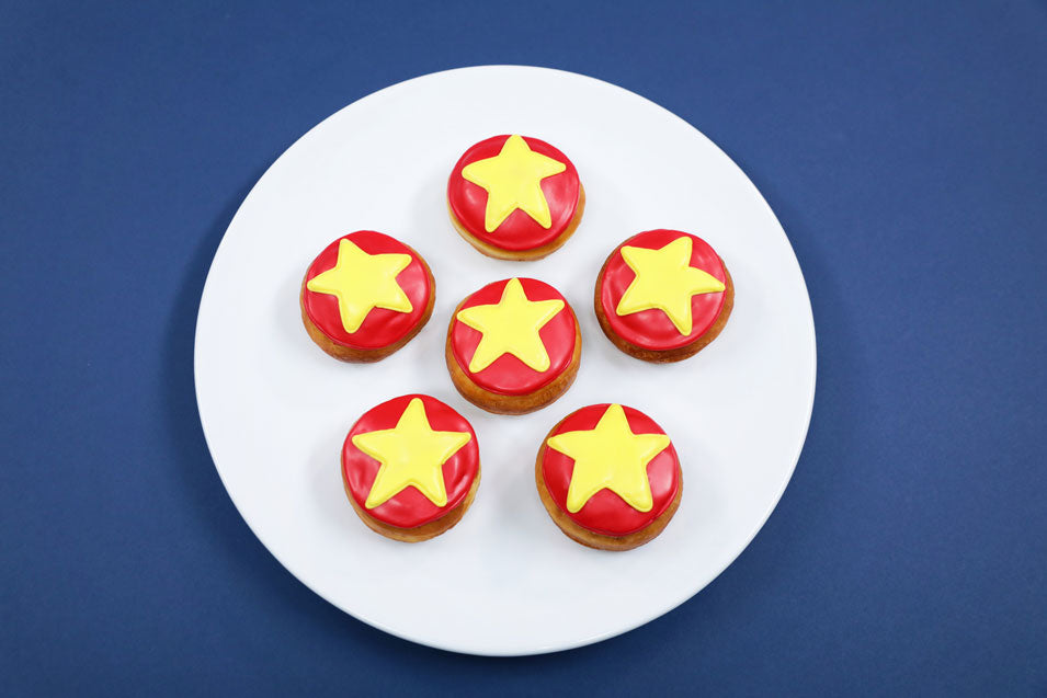 Rosanna Pansino makes Steven Universe Donuts on Nerdy Nummies