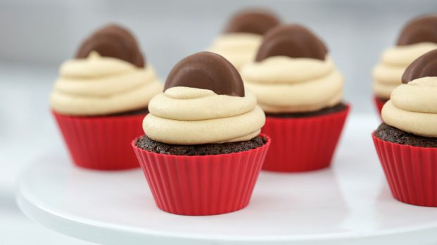 Tagalong Cookie Cupcake