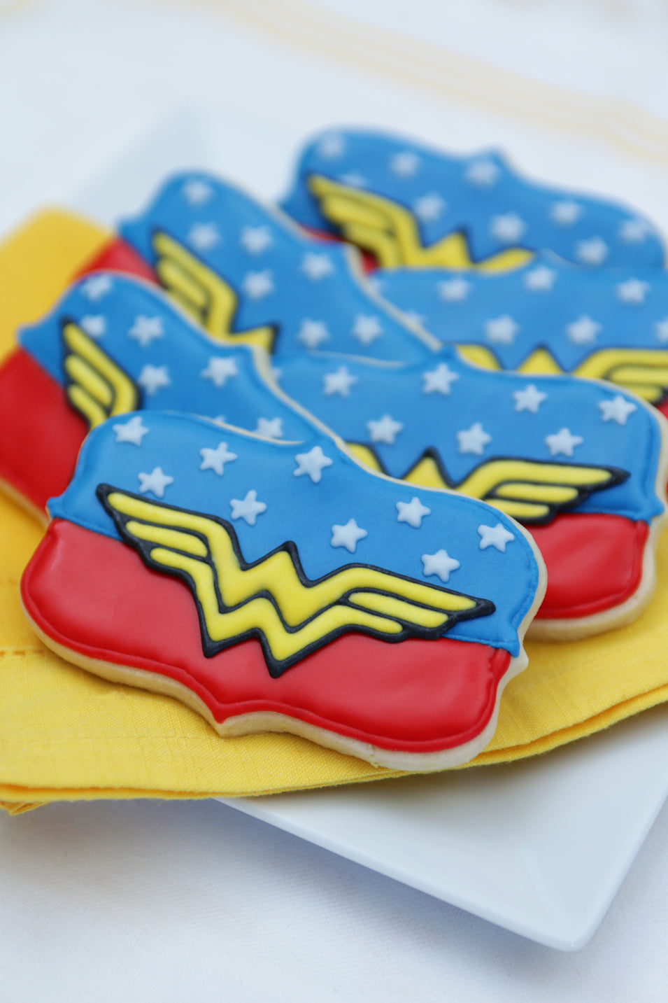 Wonder Woman Cookies