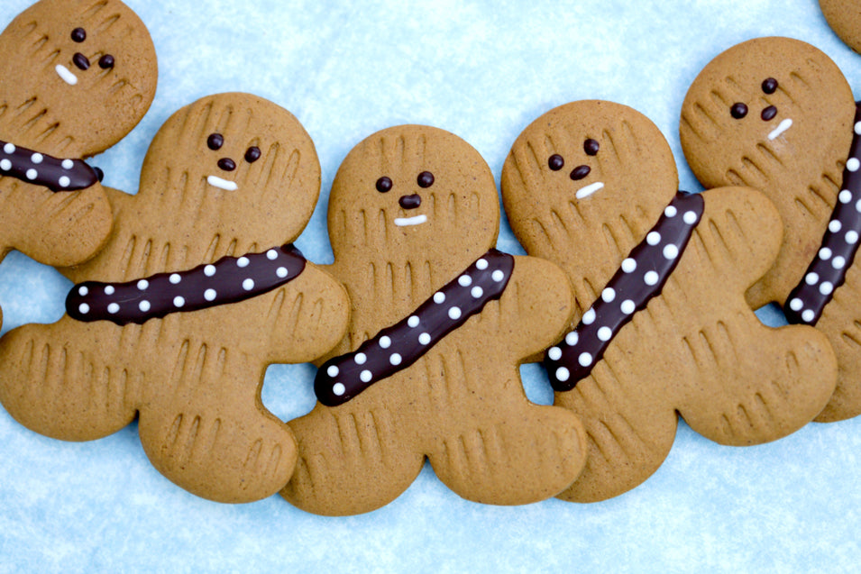 Gingerbread Wookiee Cookies