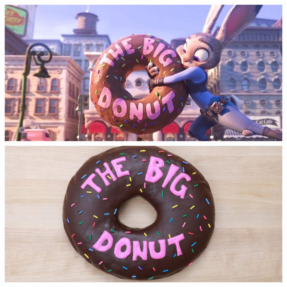 The Big Donut and The Lil' Donut