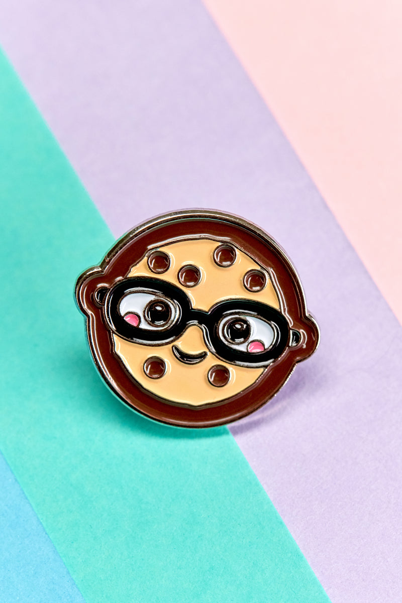Nerdy Nummies & Cookie Logo Pin Set