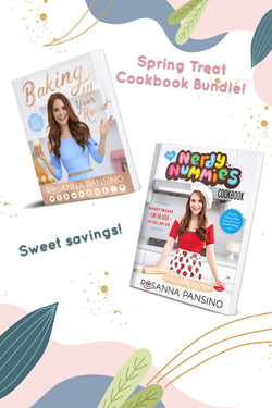 Nerdy Nummies Cookbook Collection Bundle | Official Rosanna Pansino Store
