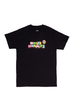 Nerdy Nummies Youth T-Shirt - Black