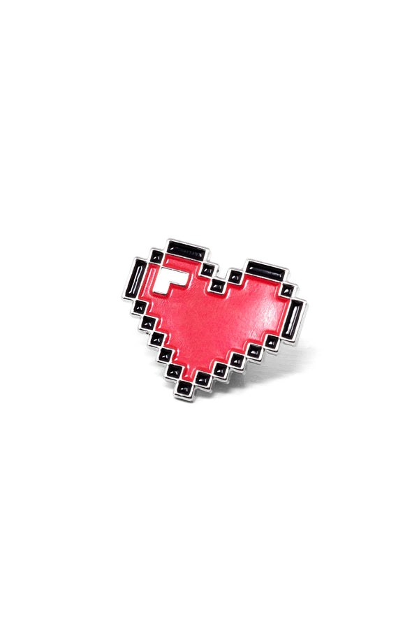 8-Bit Heart Pin | Rosanna Pansino Merch