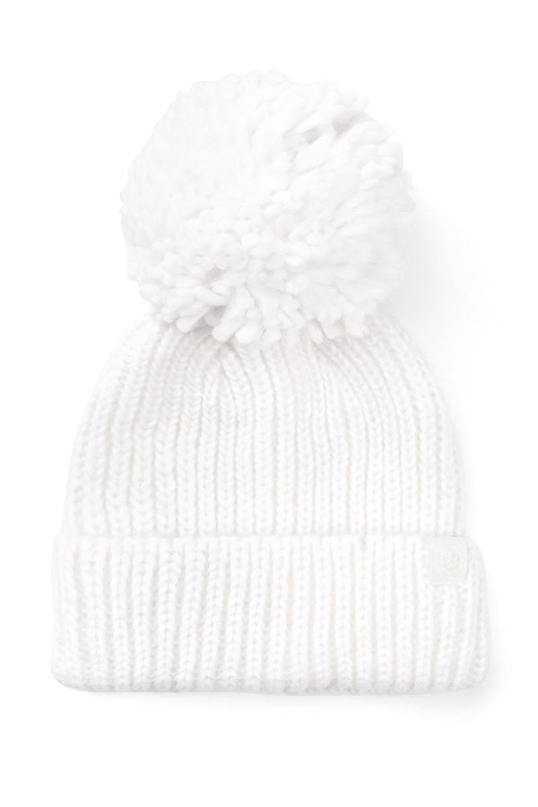 Pom Beanie White | Rosanna Pansino Merch