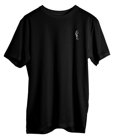 FYL Chest Stitched - Black Tee