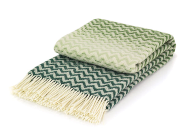 WOOLDIKE Pure NZ Wool Throw - Montenegro
