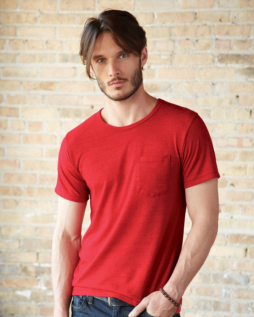 Alternative 1939 Men's Short-Sleeve T-Shirt with Front Pocket