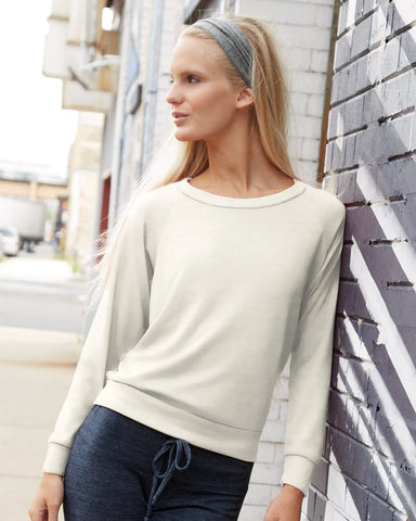 Alternative 1990e1 Ladies' Slouchy Long-Sleeve Pullover in Eco-Jersey