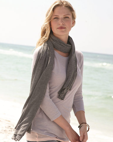 Alternative 7012 Extra-Long Ladies' Scarf in Bundle-Up Design