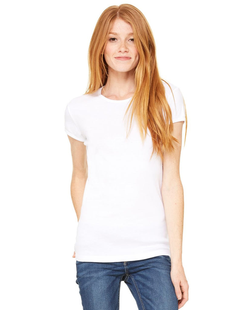 SALE!!  Bella + Canvas 1001 Ladies' Baby Rib Short Sleeve T-Shirt