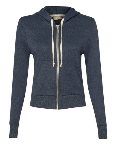SALE! Alternative - Women's French Terry Hooded Full-Zip - 9821