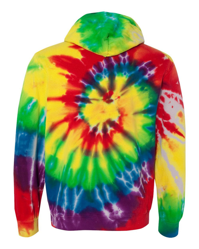 Multi Color 6pcs Honeycomb Handle Design Ombre Makeup: Multi-Color Spiral Pullover Hooded