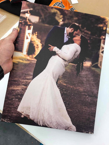 450x300mm Canvas Print - High Res Wedding & Engagement Only