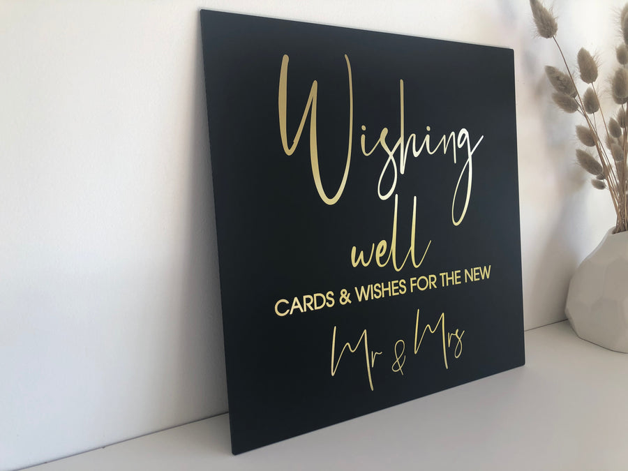 Kath - 300x300mm Wishing Well Sign