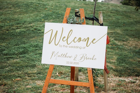 Acrylic - Welcome Sign