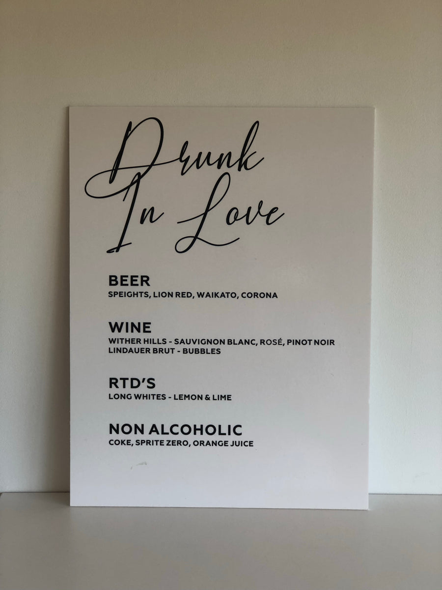 Printed - Nelly Custom Bar Sign