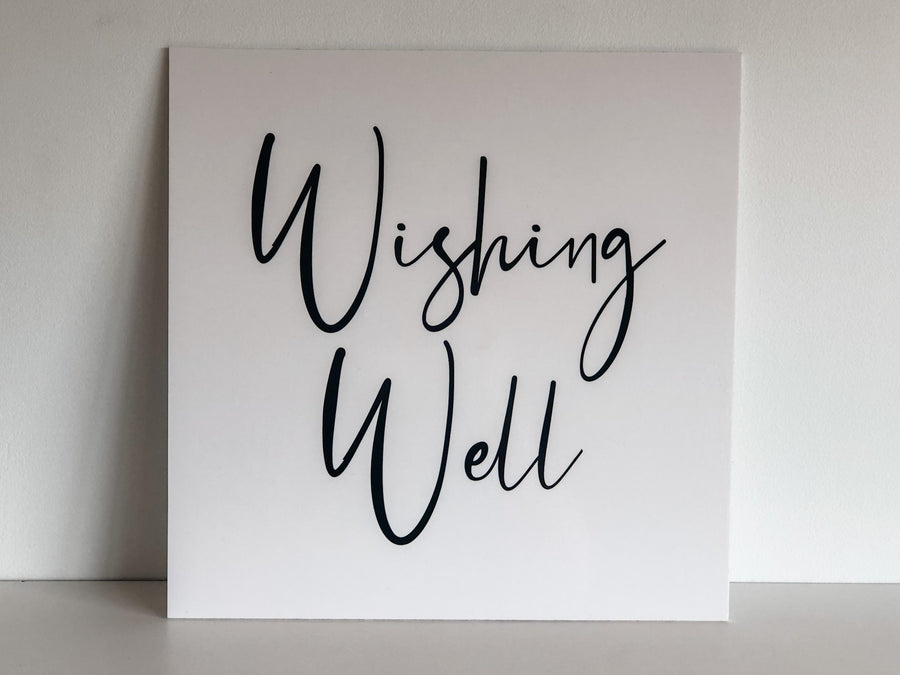 Printed- Nelly Wishing Well Sign