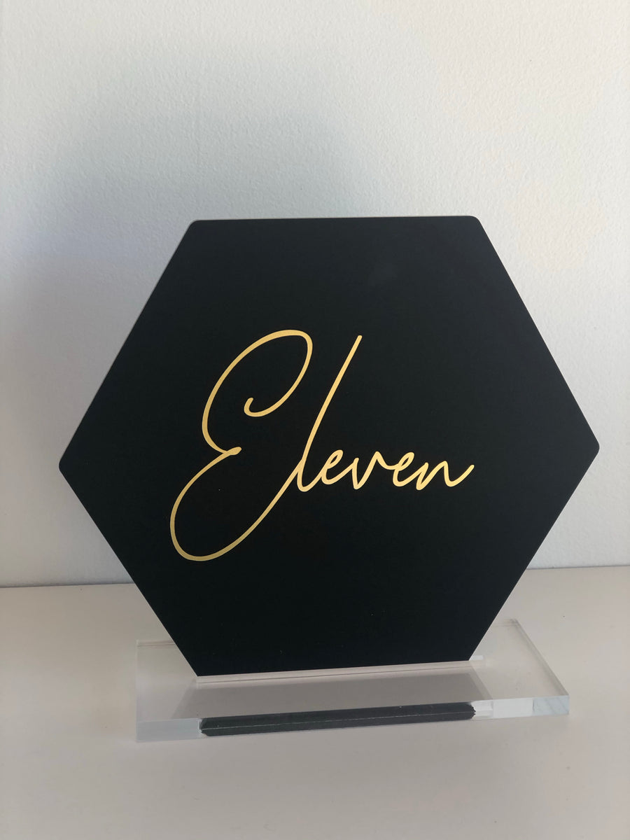 Set of 4 table numbers (2 sets available)