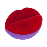 Kiss gift box red purple