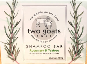 Two Goats Soap - Shampoo Bar