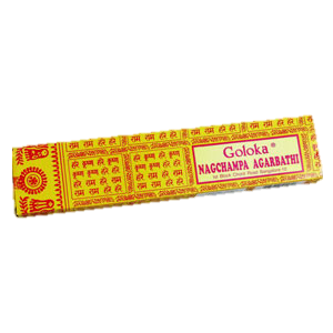 Goloka Nag Champa Incense 1 Box