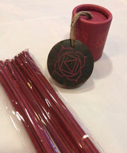 Load image into Gallery viewer, Chakra Incense - 30 sticks + Holder