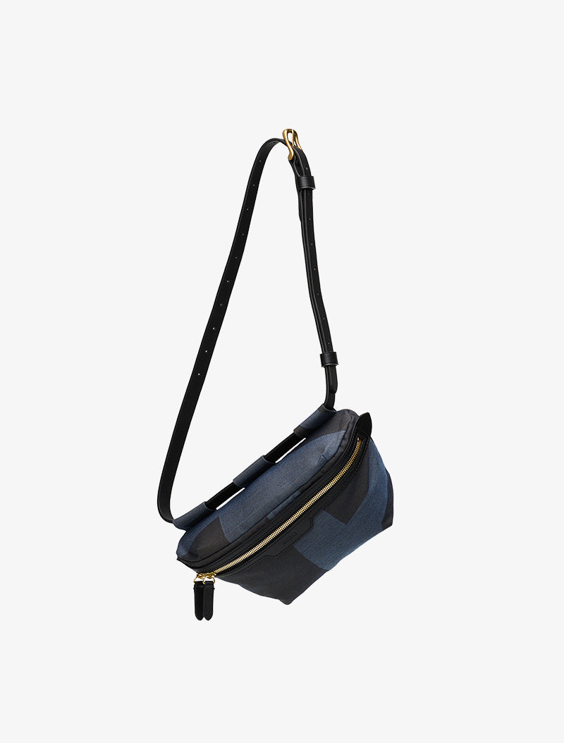 M/S Belt Bag - Elements Jacquard/Black description image