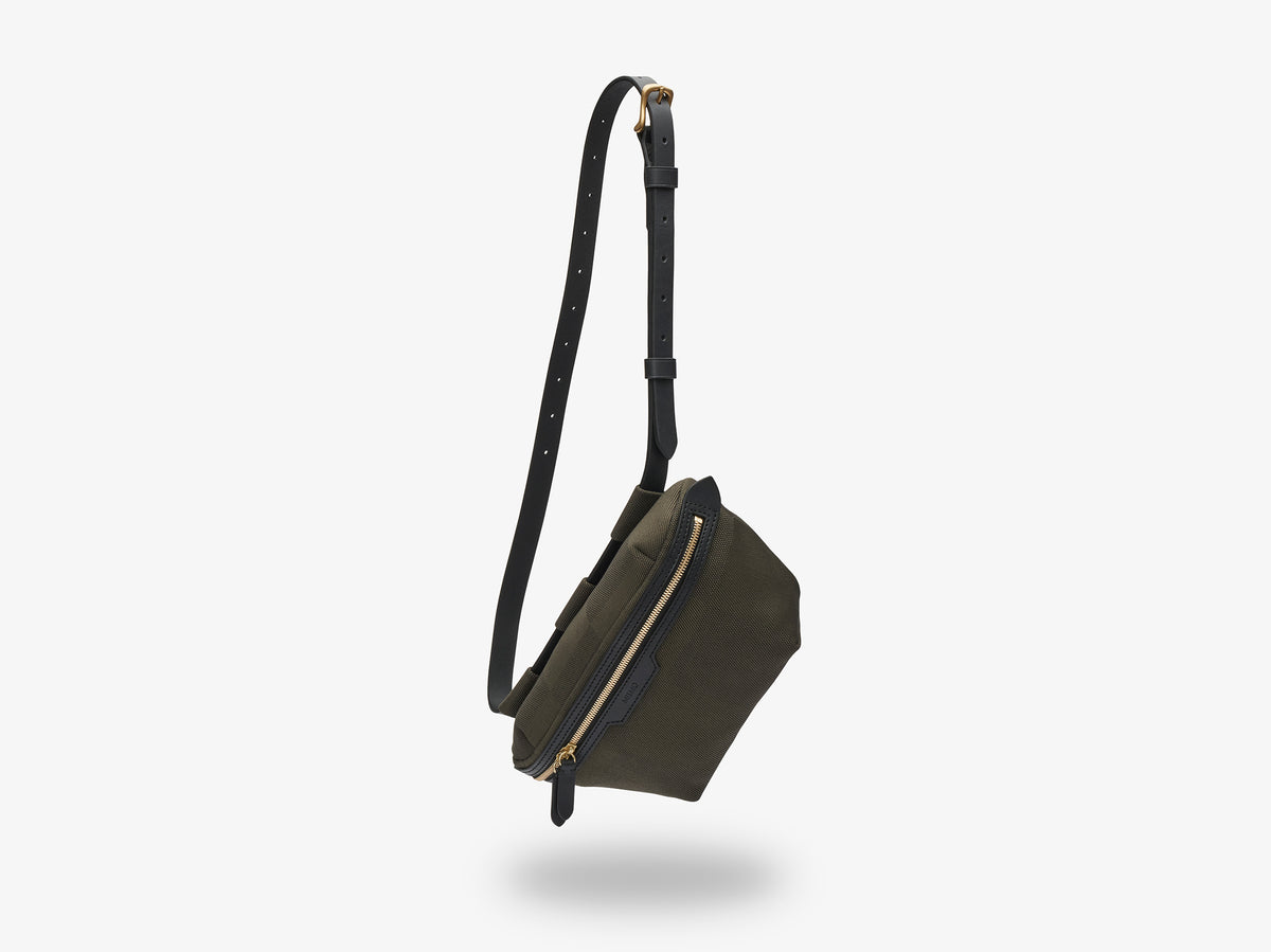 M/S Belt Bag - King's Green/Black description image