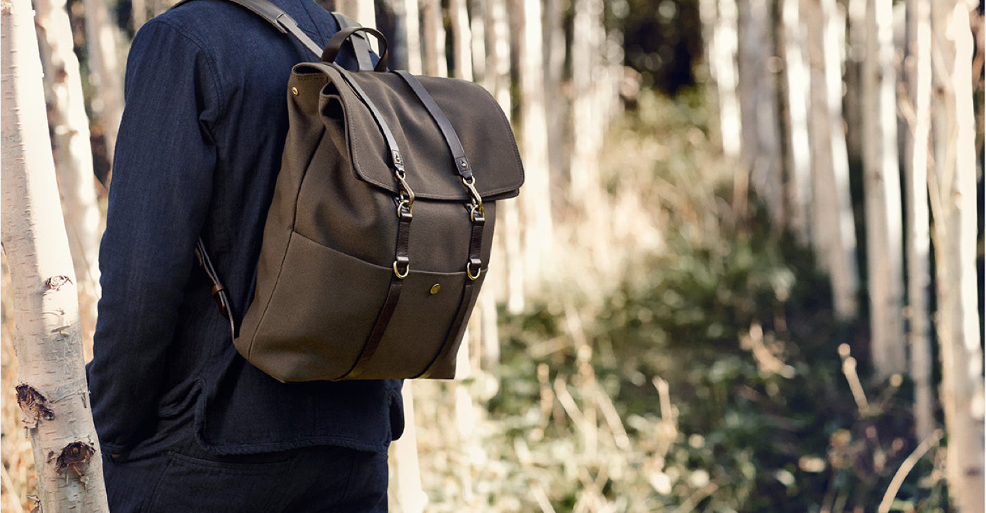 M/S Backpack – Army/Dark brown feature image 3
