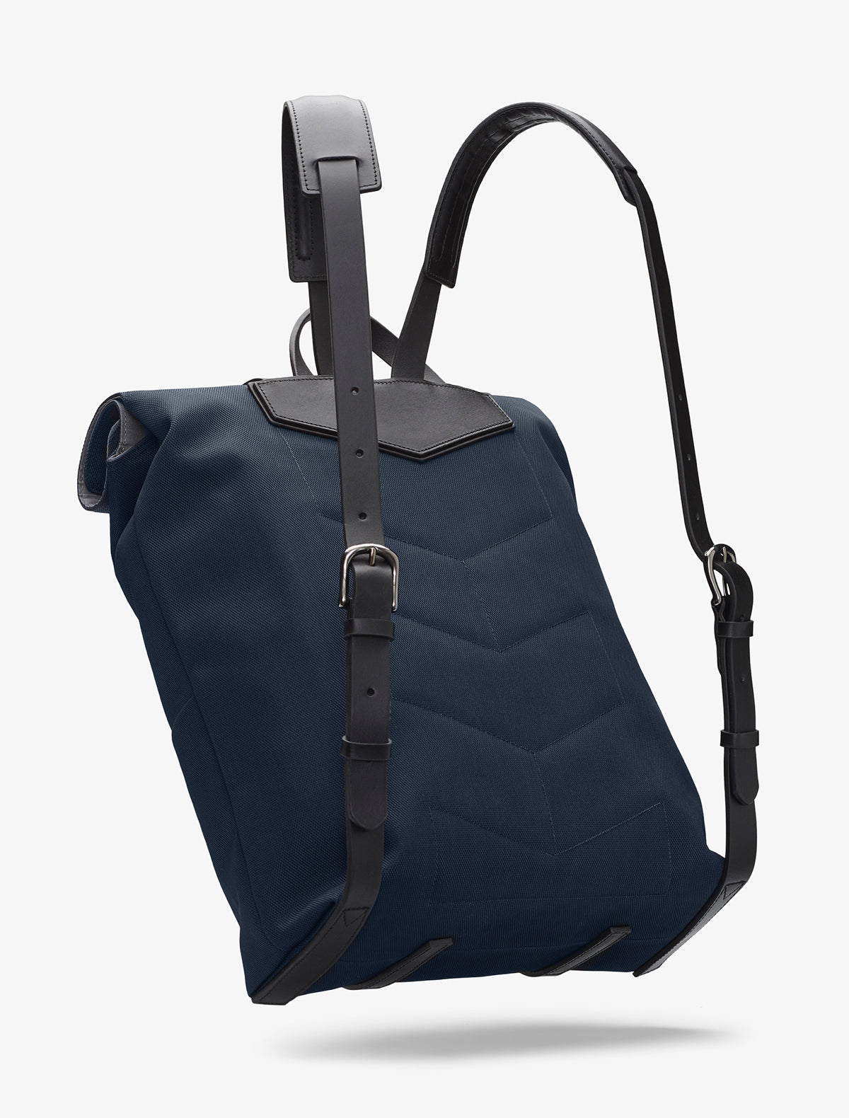M/S Backpack – Deep blue/Black description image