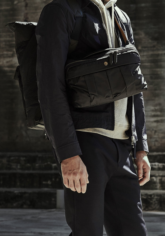 M/S Double Dopp-kit - Beluga/Black collection 1