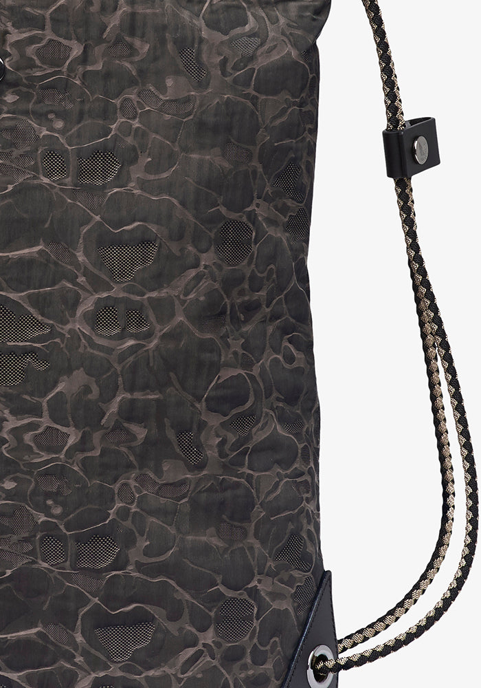 M/S Pouch Large - Camo Jacquard/Black collection 1