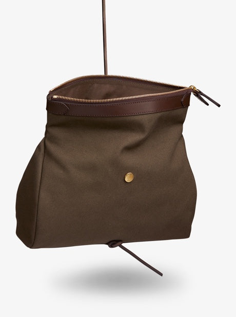 M/S Carry – Army/Dark Brown description image
