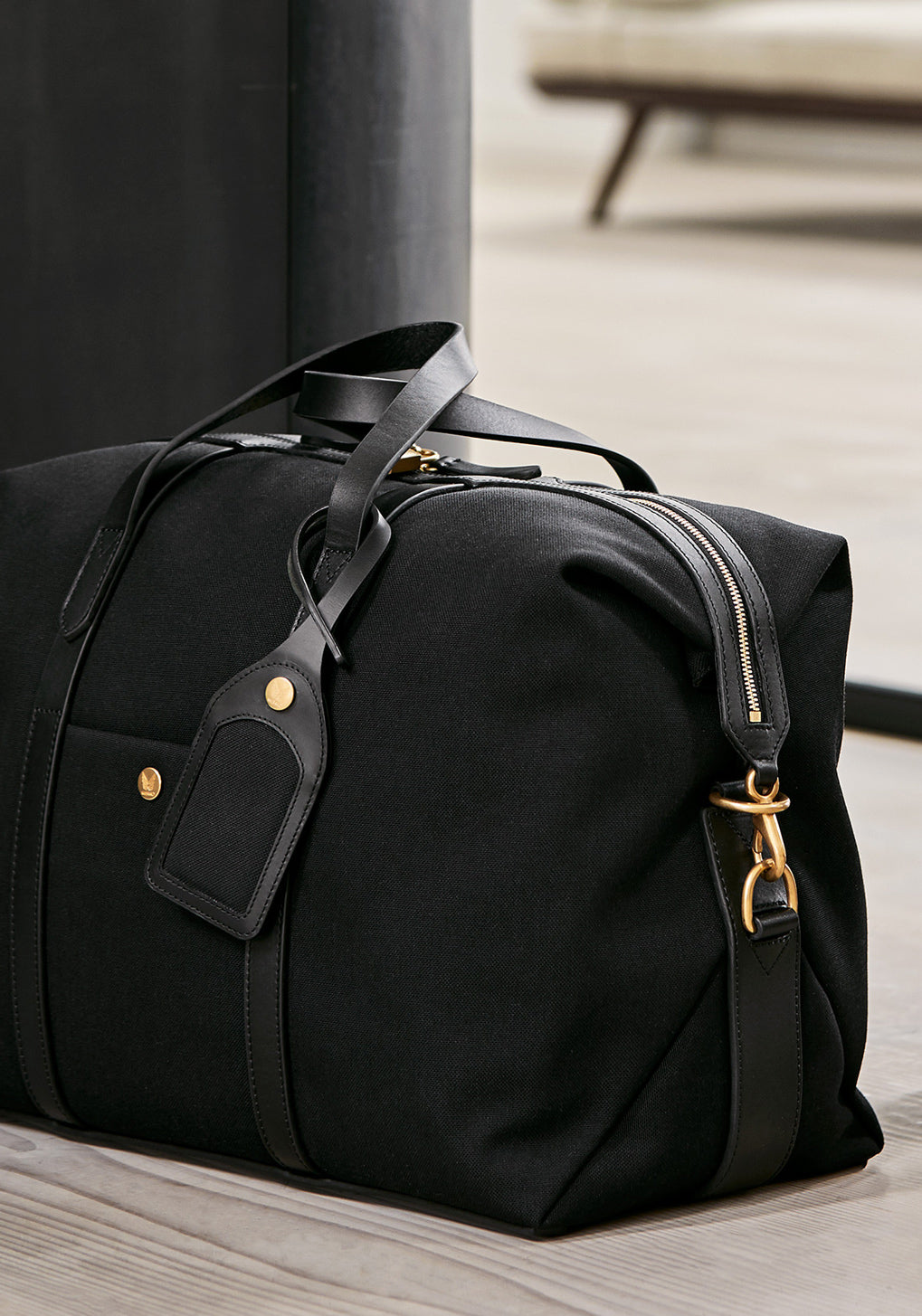 M/S Holdall - Coal/Black collection 1