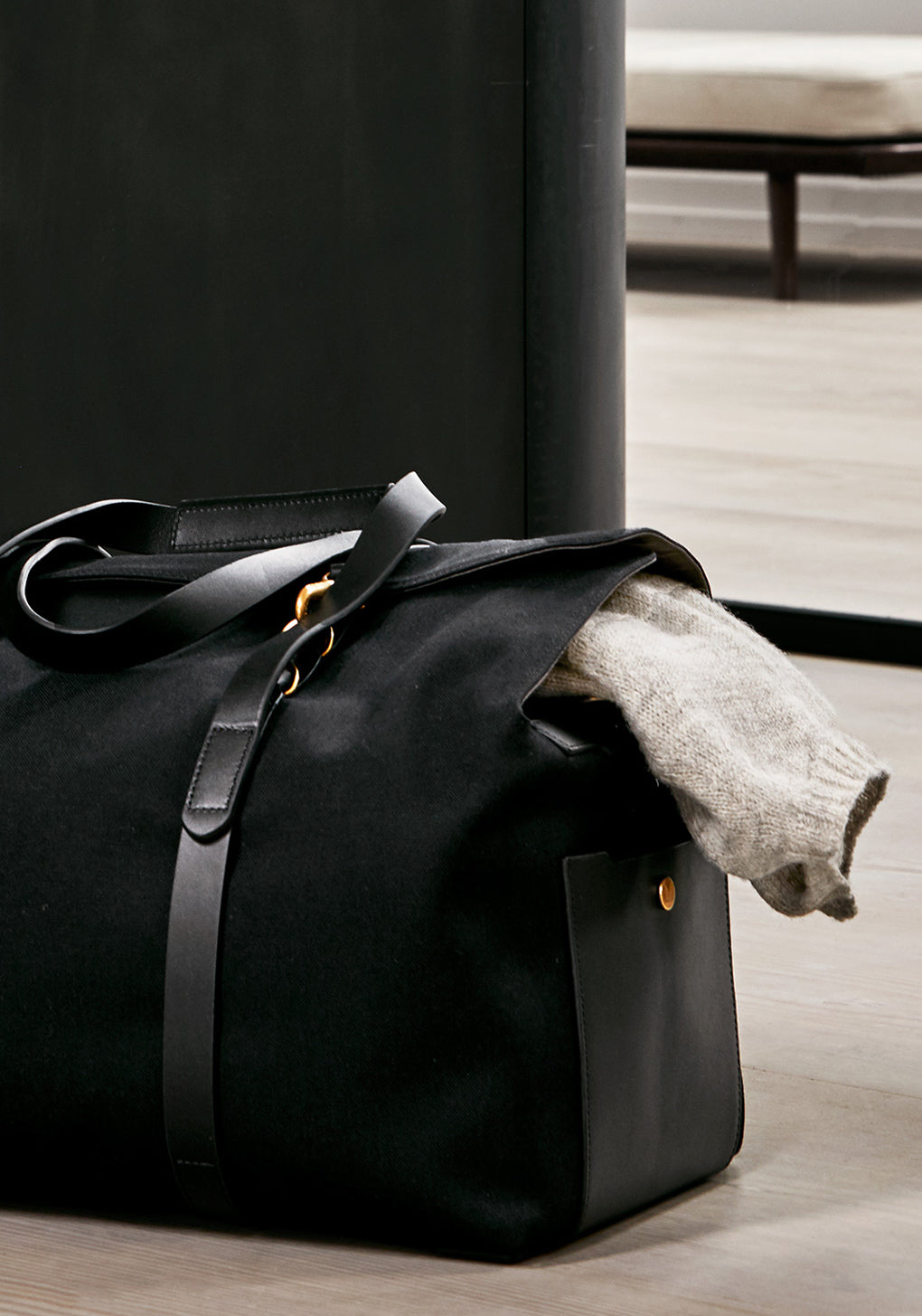 M/S Drop bag - Coal/Black collection 1
