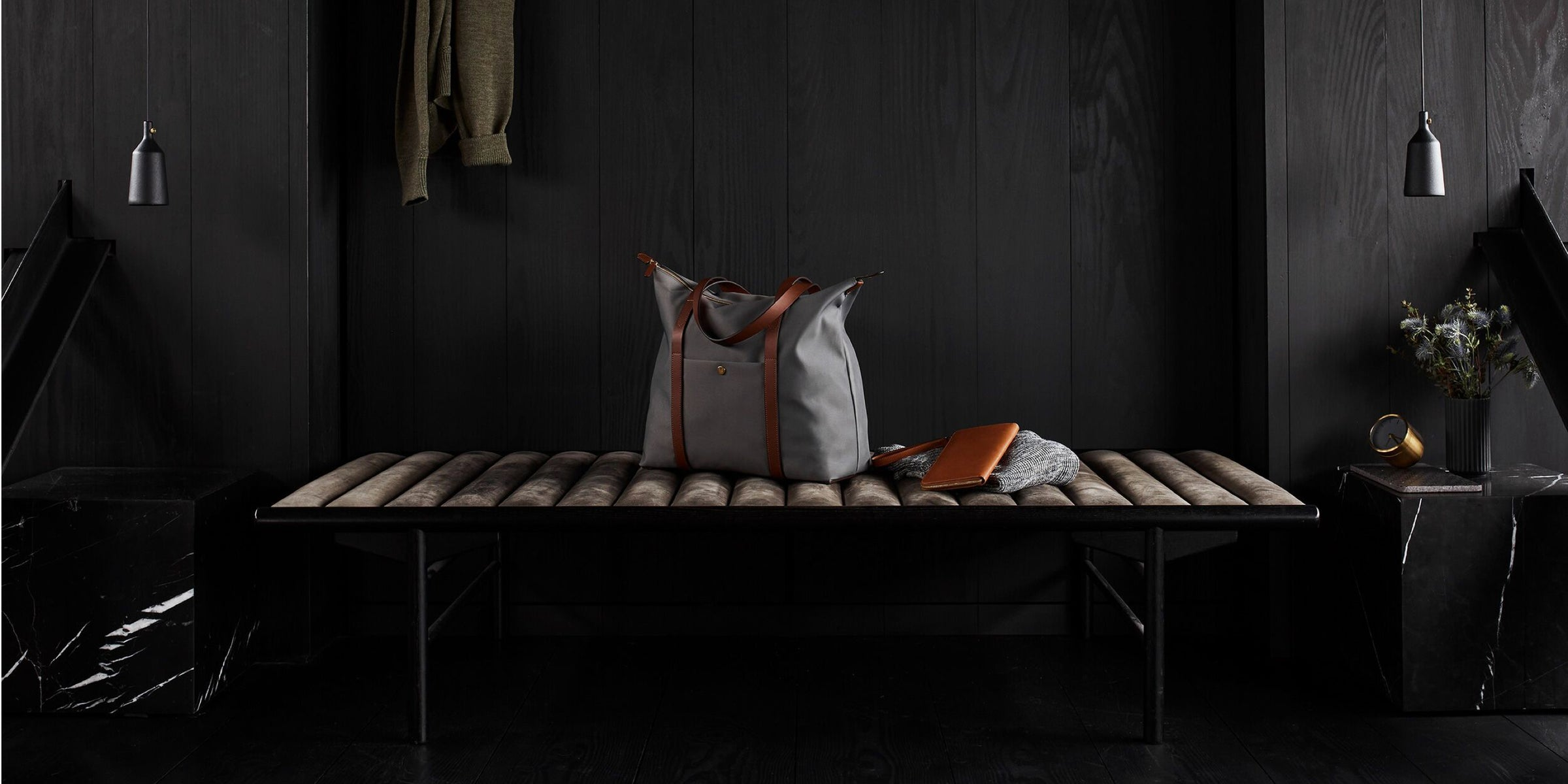 M/S Backpack - Concrete/Cuoio featured collection image